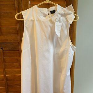 Worthington White Sleeveless top XL